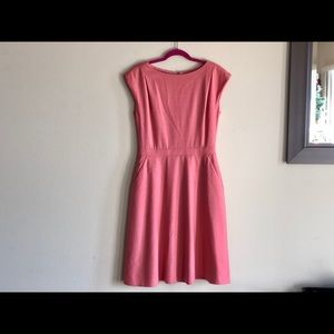 J. Crew pink business dress size 6t